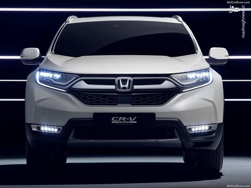 Honda CR-V Hybrid Concept (2017)