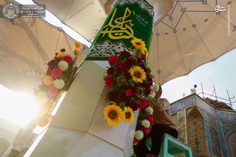 حرم امیرالمومنین(ع) در آستانه عید غدیر