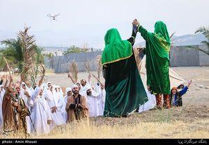 عکس/ بازسازی واقعه غدیرخم در تهران