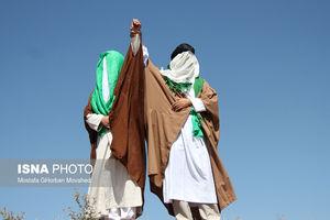 عکس/ بازسازی واقعه غدیرخم در کرمانشاه و اهر