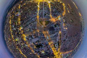 تصویر فوق العاده از نجف اشرف
