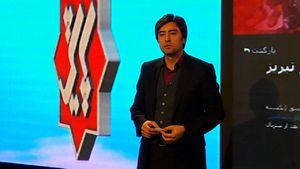 زلزله در تلویزیون +عکس