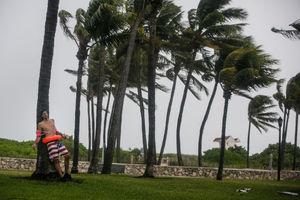 عکس/ شوخی آمریکایی در طوفان!