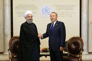 عکس/ دیدار روحانی با رئیسجمهور قزاقستان