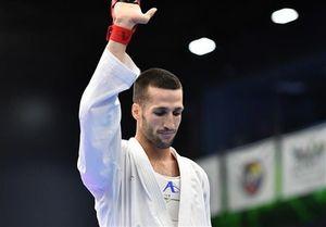 نخستین طلای تیم ملی کاراته بر گردن مهدیزاده