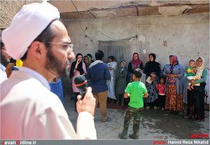 عکس/ عید غدیر در کنار ولی نعمتان