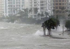 حمله «ایرما» به فلوریدا؛ میامی را آب برد +عکس