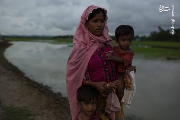 فرار مسلمانان مظلوم از میانمار