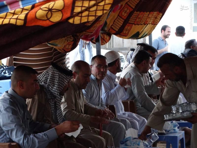 مجلس ترحیم شهید «مرتضی حسین پور»(حسین قمی) در عراق