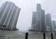فیلم/ طوفان برج های میامی را احاطه کرد