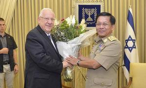 اسراییل و ارتش میانمار