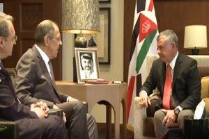 لاوروف و شاه اردن بر ضرورت حل سیاسی بحران سوریه تاکید کردند