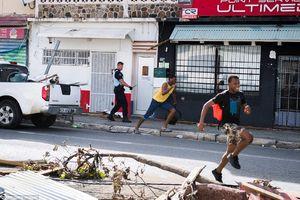 عکس/ فرار از زندان با کمک طوفان!