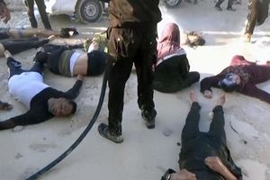 حمله شیمیایی تروریستها در سوریه