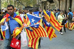 تظاهرات گسترده هواداران استقلال کاتالونیا