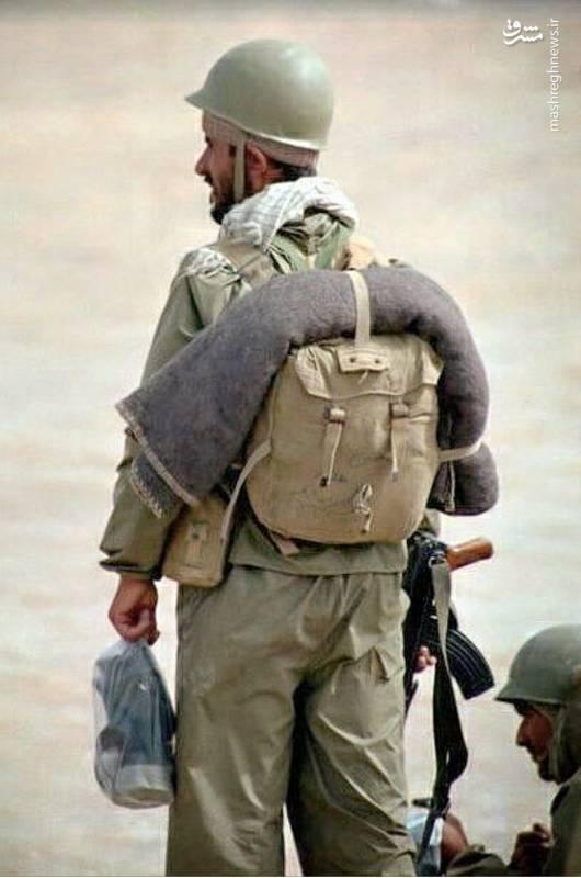 رزمندگان در دوران دفاع مقدس