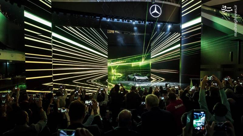 مراسم رونمایی از (Mercedes-AMG Project One 1000 HP)