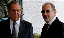 وزرای خارجه روسیه و اردن