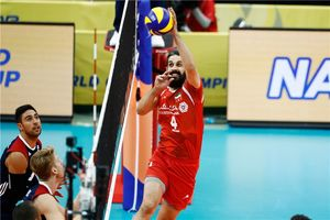 والیبال ایران و آمریکا