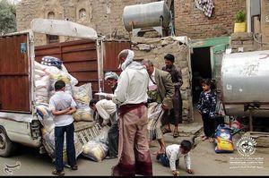 امدادرسانی جوانان ایرانی در میان جنگزدگان یمنی