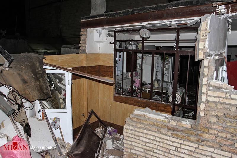 انفجار ساختمان مسکونی در مشهد