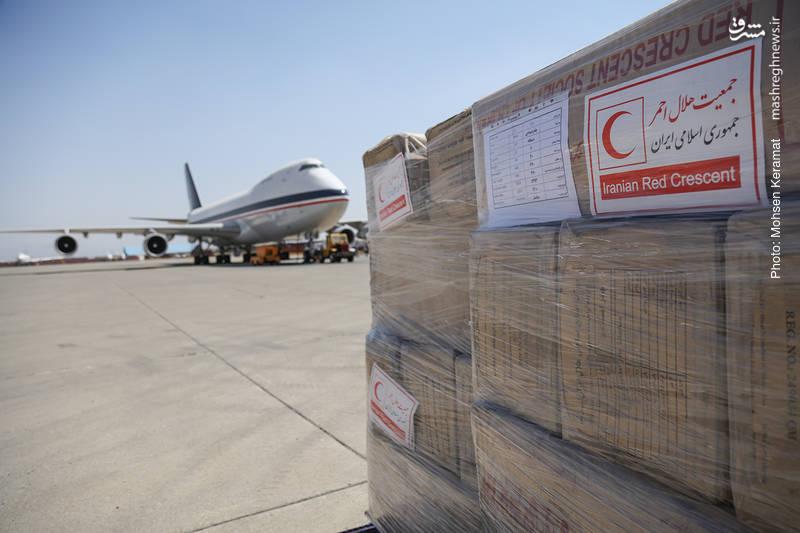 ارسال محموله هلال احمر ایران برای مسلمانان میانمار