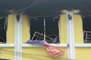 اولین تصاویر از آتشسوزی مرگبار مدرسه در مالزی