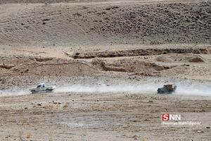 رزمایش غدیر گردان 179 در منطقه میاب بجنورد