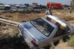 ۳ کشته در اثر برخورد پژو با خاور