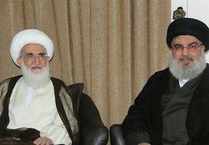 دیدار دبیرکل حزبالله لبنان با آیتالله نوریهمدانی +عکس