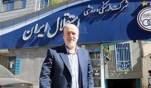 عکس/ پیمان حسینی در کنار مدیرعامل استقلال