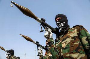عکس/ رژه نیروهای حشدالشعبی در نجف