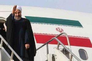 فیلم/ بدرقه روحانی برای حضور در سازمان ملل