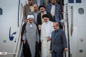 عکس/ بازگشت سرپرست حجاج ایرانی به تهران