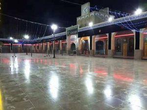 عکس/ سیاهپوشی حرم حضرت زینب(س) در آستانه محرم