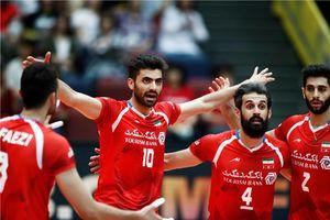 تصاویر دیدار تیم های والیبال ایران و فرانسه