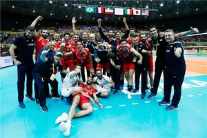 فیلم/ مراسم اهدای مدال به ملی پوشان والیبال
