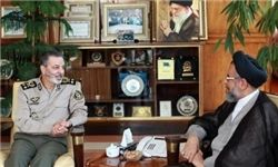 دیدار وزیر اطلاعات با فرمانده کل ارتش