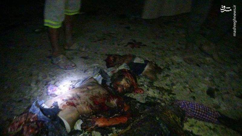 قتل عام خانواده 12 نفره یمنی در بمباران سعودیها