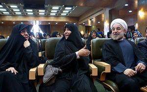 حسن روحانی: حالا امشب شام چی داریم حاج خانم؟+عکس