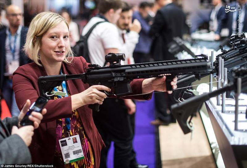 نمایشگاه تسلیحات جهان در لندن