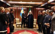 دیدا روحانی با نخست وزیر سوئد