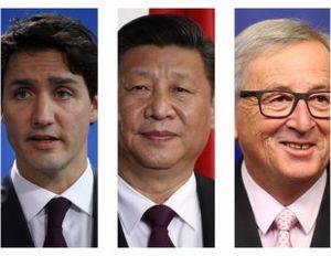 کانادا چین اتحادیه اروپا