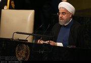 تصاویری از سخنرانی رئیس جمهور در مجمع عمومی سازمان ملل