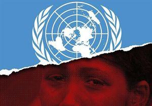 پوسترهایی با موضوع کشتار مسلمانان در میانمار