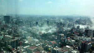 تصویر هالیوودی از لحظه وقوع زلزله در مکزیک