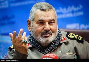 سرلشکر فیروزآبادی: اگر اراده رهبری نبود داعش به مرزهای کشور میرسید