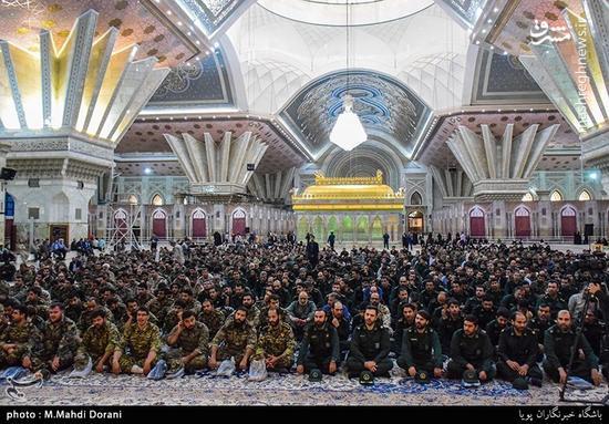 تجدید میثاق سپاه تهران با امام راحل