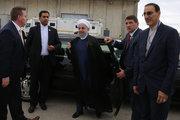 خودروی روحانی در نیویورک