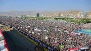 جشن سومین سالگرد انقلاب مردم یمن در صنعا